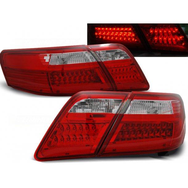 Baklykter TOYOTA CAMRY 6 XV40 06-09 RED WHITE LED