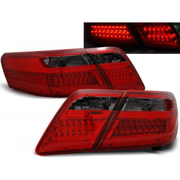Baklykter TOYOTA CAMRY 6 XV40 06-09 RED SMOKE LED