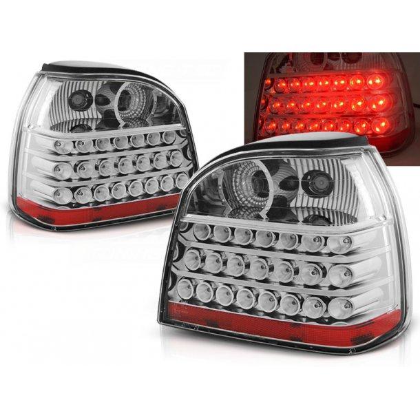 Baklykter VW GOLF 3 09.91-08.97 CHROME LED