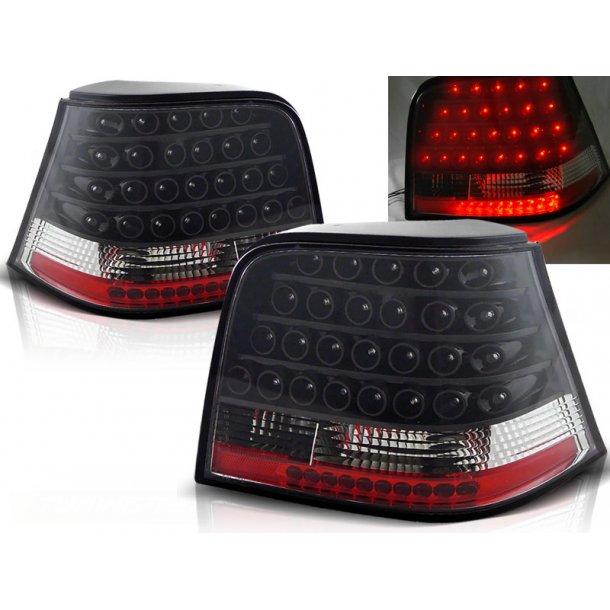 Baklykter VW GOLF 4 09.97-09.03 BLACK LED
