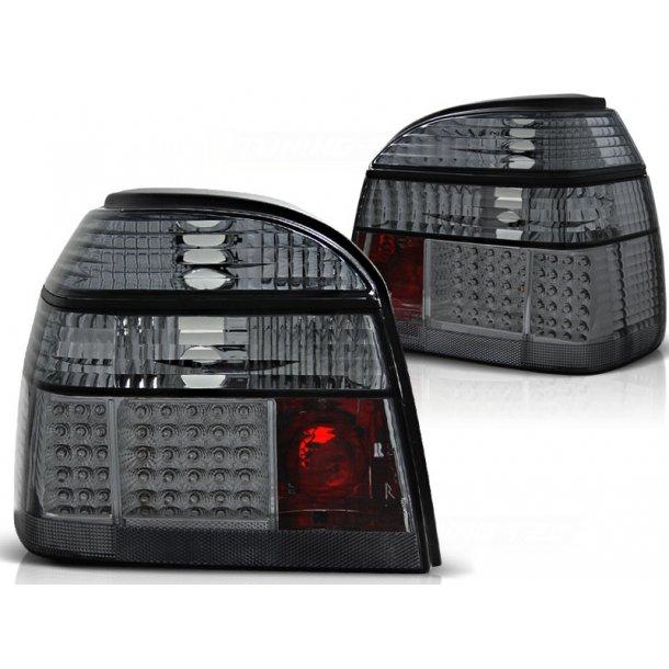 Baklykter VW GOLF 3 09.91-08.97 SMOKE LED