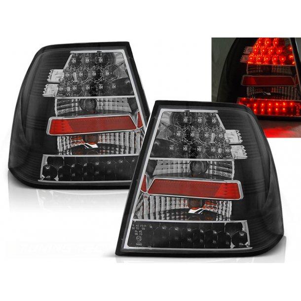 Baklykter VW BORA 09.98-07.05 BLACK LED