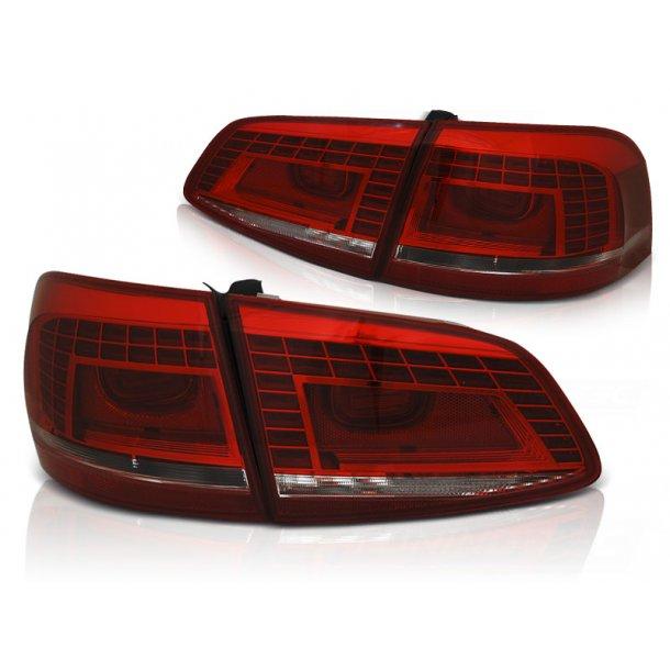 Baklykter VW PASSAT B7 VARIANT 10.10-10.14  RED WHITE LED