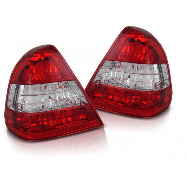 Baklykter MERCEDES W202 C-KLASSE 06.93-06.00 RED WHITE