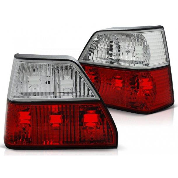Baklykter VW GOLF 2 08.83-08.91 RED WHITE