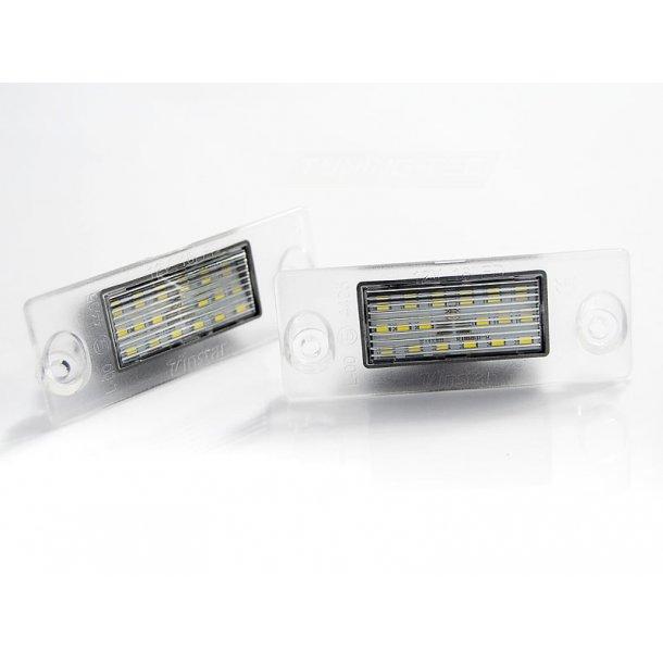 Skiltlys AUDI A4 B5 94-98 / A3 97-00 LED