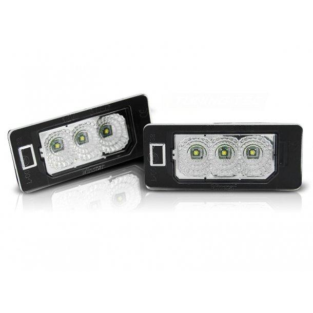 Skiltlys AUDI Q5 / A4 08-10 / A5 / TT / VW PASSAT B6 ST.VOGN LED