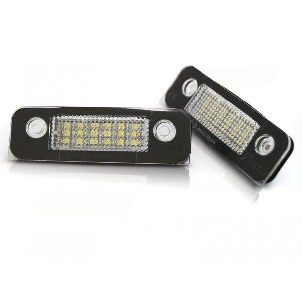 Skiltlys FORD MONDEO MK2 FUSION FIESTA 6 LED