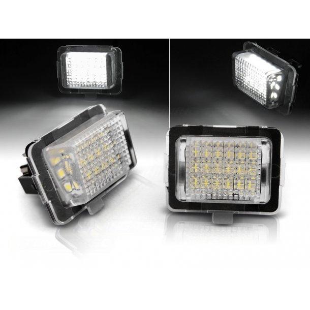 Skiltlys MERCEDES W204 W212 C207 C216 W221 LED