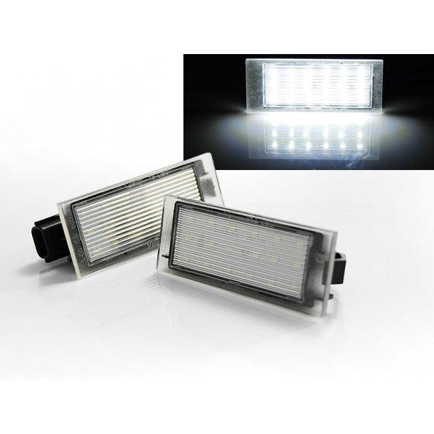 Skiltlys RENAULT TWINGO 2/ CLIO 3/MEGANE 2,3/ LAGUNA 2,3 LED