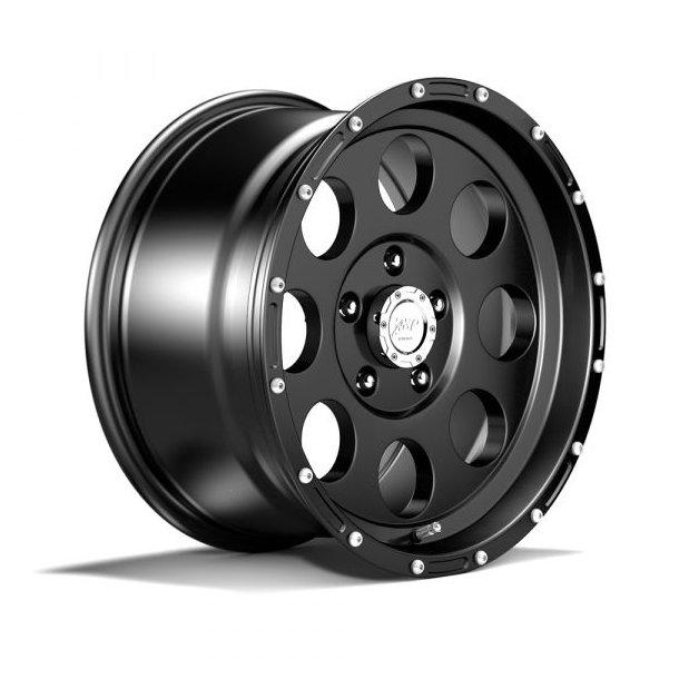 Felger ASP 1422 9x17 5x127 ET-16 black -TÜV-godkjent