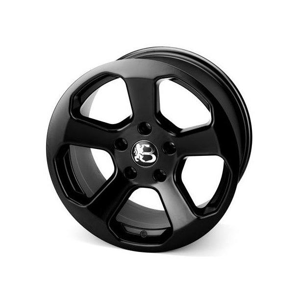Bawarrion Bon'Z 7,5x17 5x110 ET+31 black -TÜV-godkjent