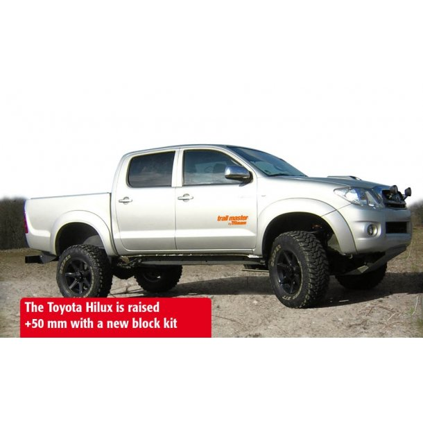 +50/60 mm Trail Master Hevesett - Toyota Hilux 05-16